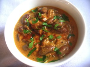 Rajma (Red Kidney Beans Simmered in an Aromatic Tomato Sauce)