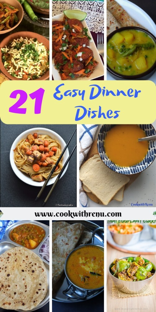 21 Easy Dinner Dishes