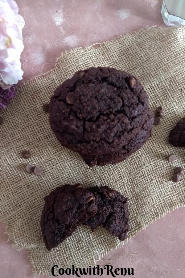 Chocolate Coconut Flour Cookies (Gluten Free)