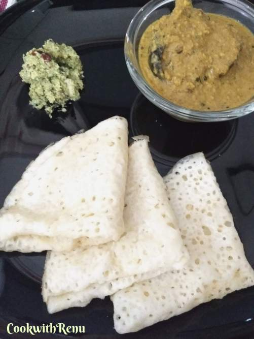 Neer Dosa (Vegan & Gluten Free Thin Rice Crepes)