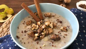 Quinoa Pear Walnut Oatmeal Recipe
