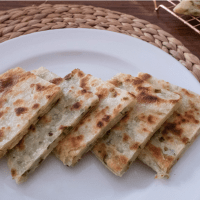 Crunchy Scallion Pancakes