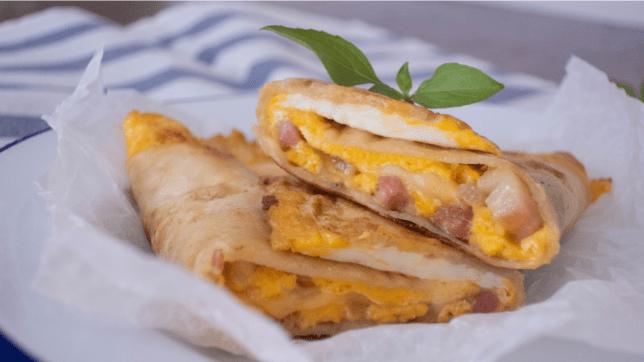 容易做的蛋餅早餐食譜