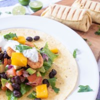 Prawn Mango Avocado Salsa Burrito: A Delicious and Refreshing Breakfast Recipe
