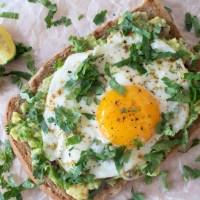 Sunny-Side-Up Avocado Toast