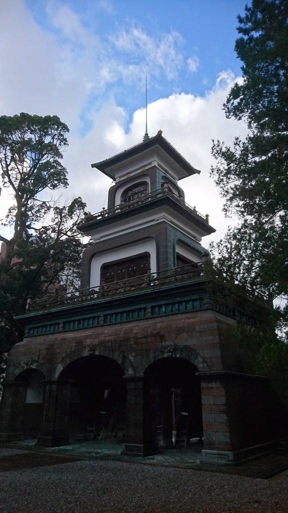 金沢,観光,おすすめ,尾山神社,前田利家,神門