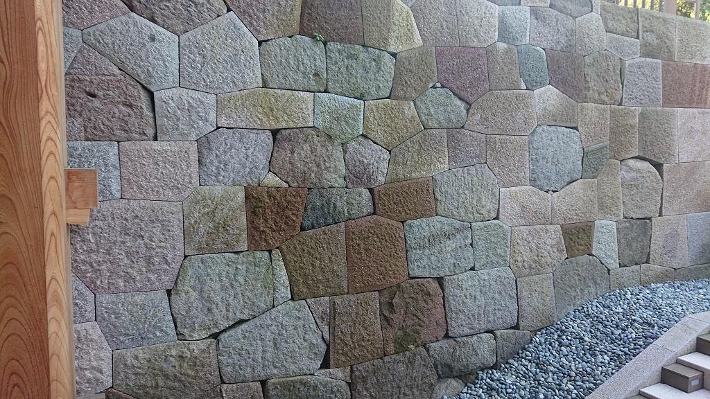 鼠多門の石垣