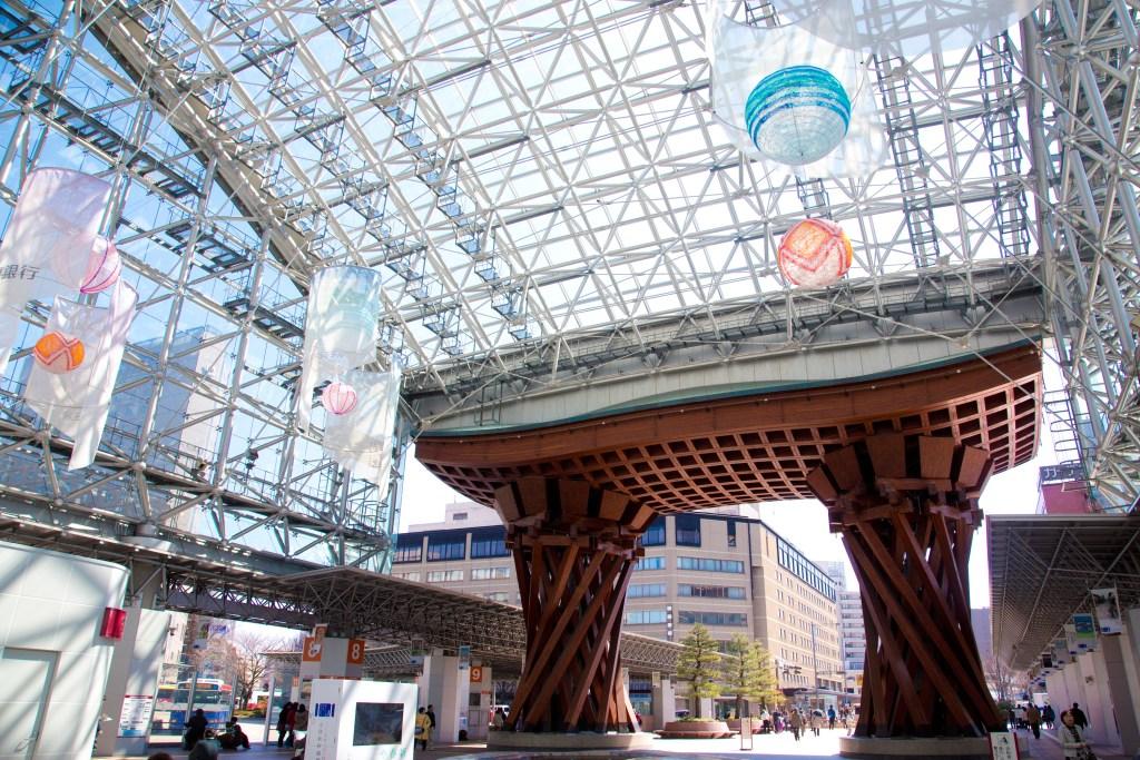 金沢駅,もてなしドーム,東口,兼六園口