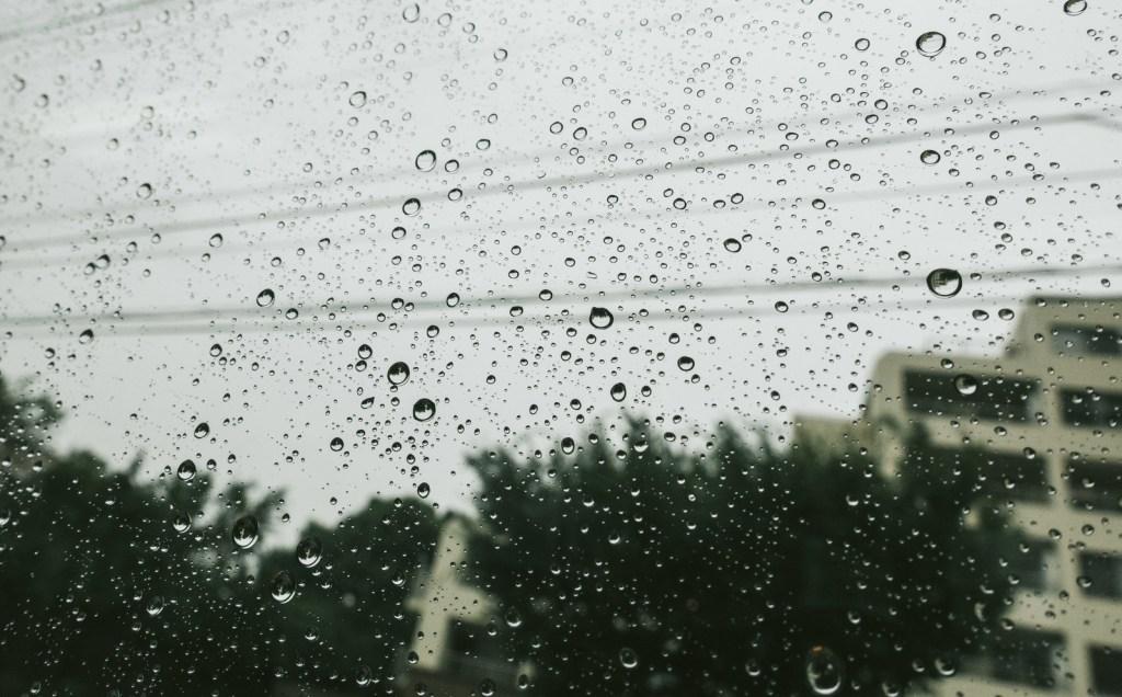 窓,水滴,湿度