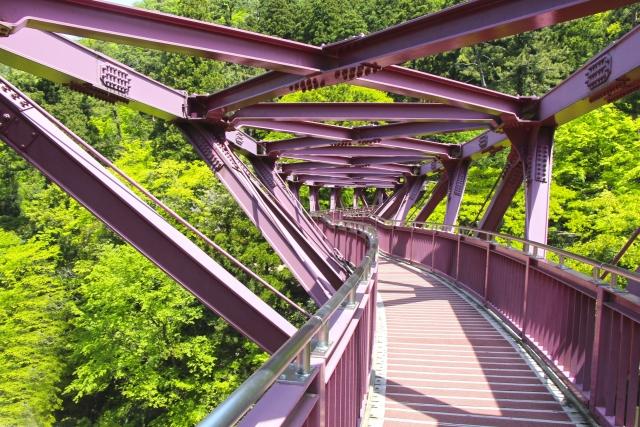 あやとり橋,山中温泉