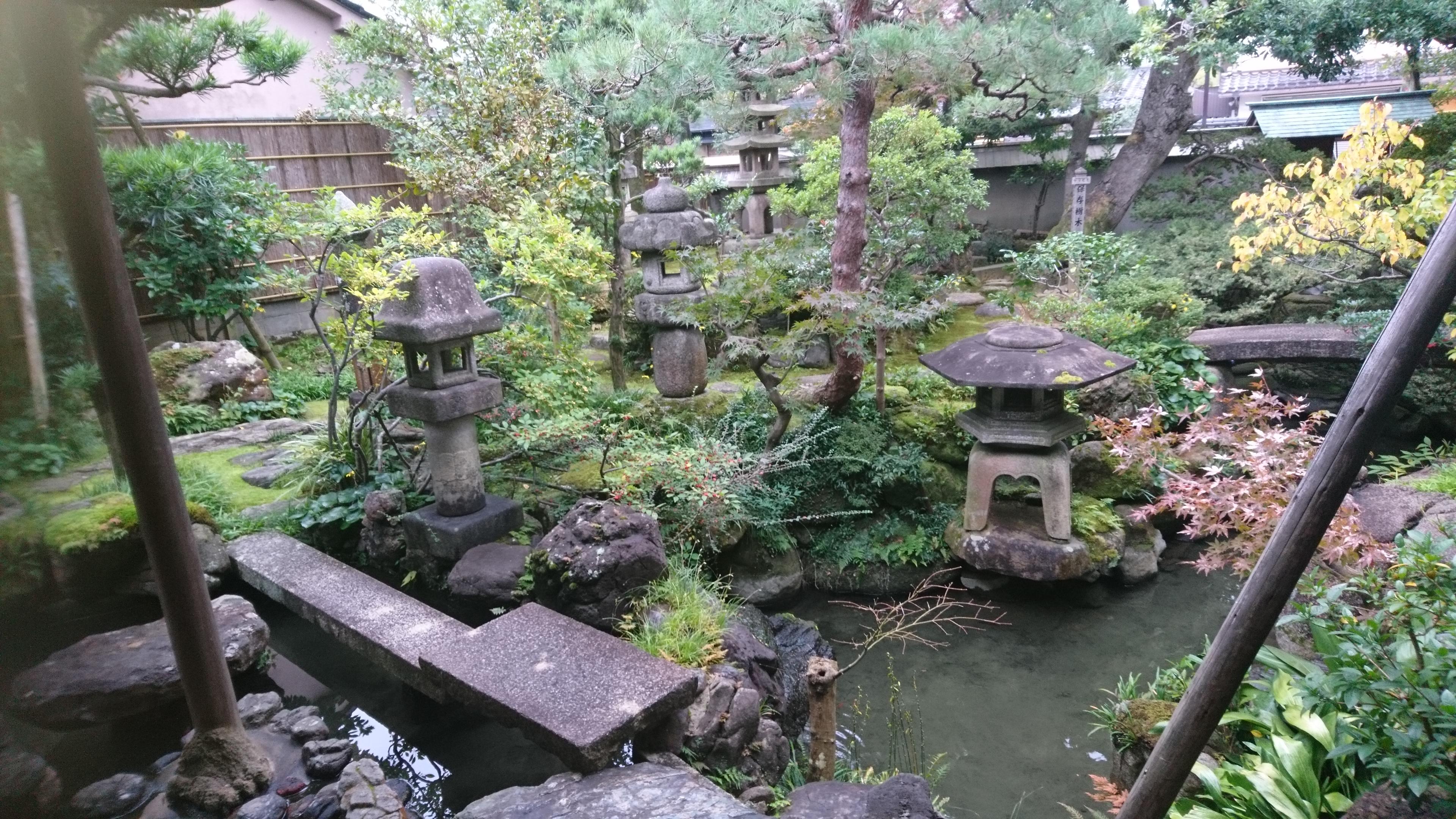 武家屋敷跡,野村家,灯籠,金沢