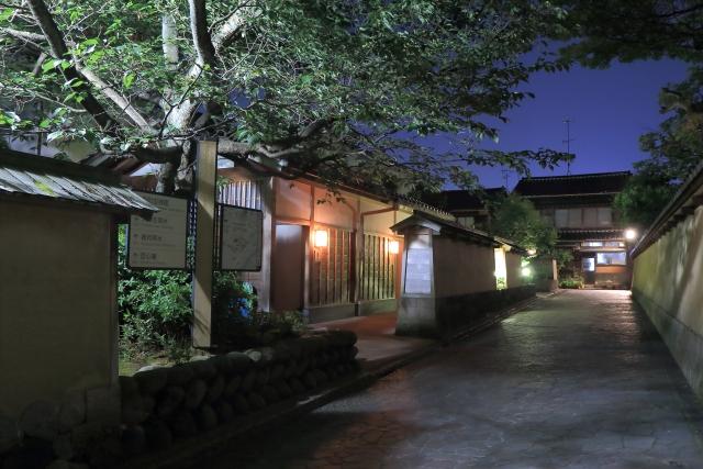 武家屋敷跡,長町,金沢
