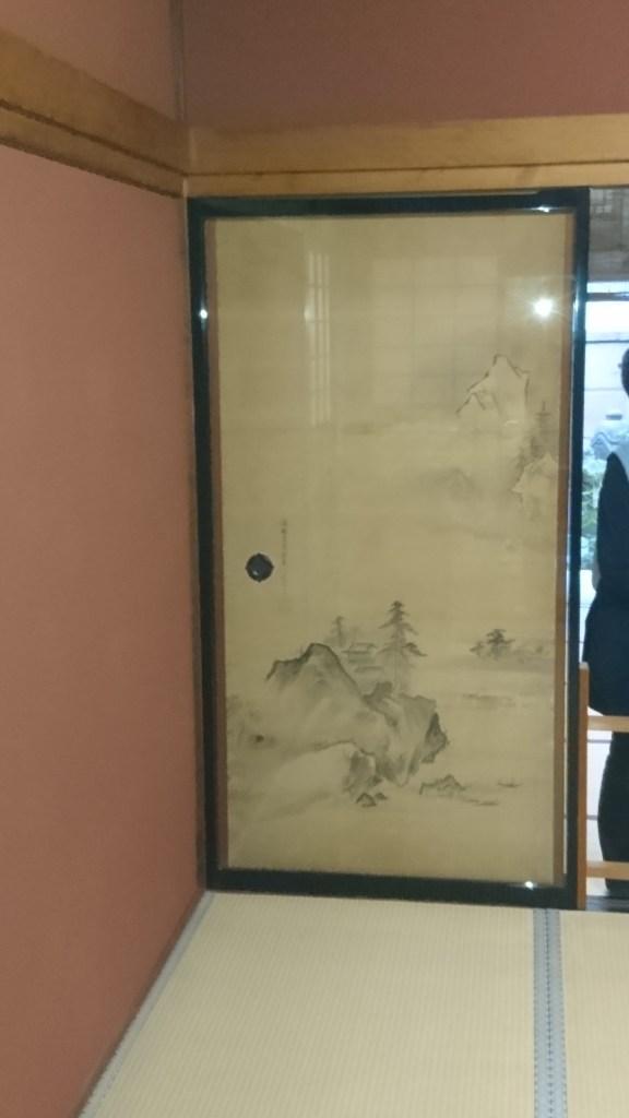 襖絵,佐々木泉景,野村家,上段の間