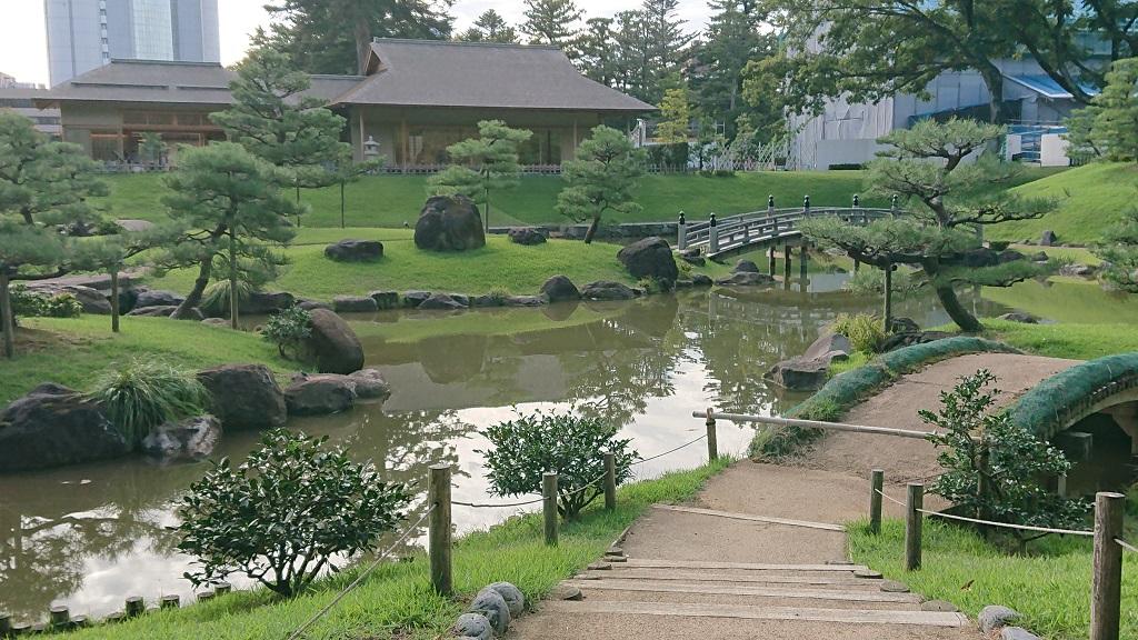 玉泉院丸庭園の玉泉庵