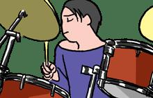 ドラムってどのくらいの期間で上達する?