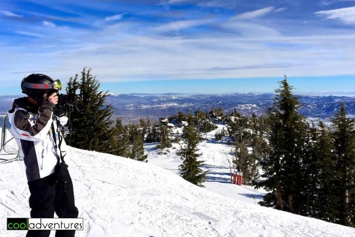 Greg Hull at Mt Rose Ski Resort, Reno, Nevada