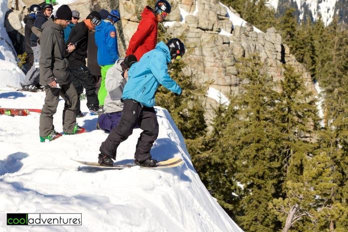 Men's snowboarding, Huck Cup at Sierra at Tahoe