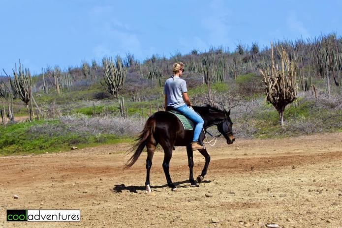 Bregje on Allwreckdup, Rancho Washikemba, Bonaire