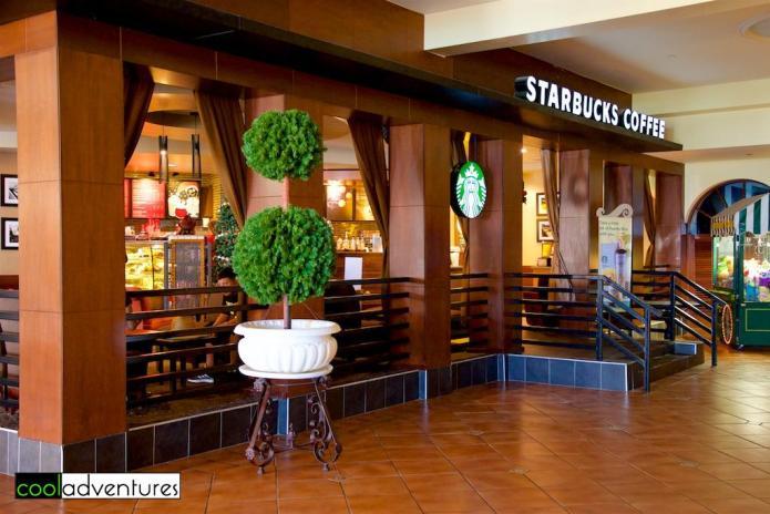 Starbucks, El Conquistador, A Waldorf Astoria Resort, Fajardo, Puerto Rico