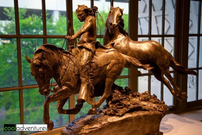 Walkara-Hawk of the Mountains, Greg Kelsey, Briscoe Museum, San Antonio, Texas