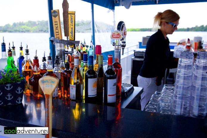 Cash bar on the North Star, Gull Lake, Minnesota