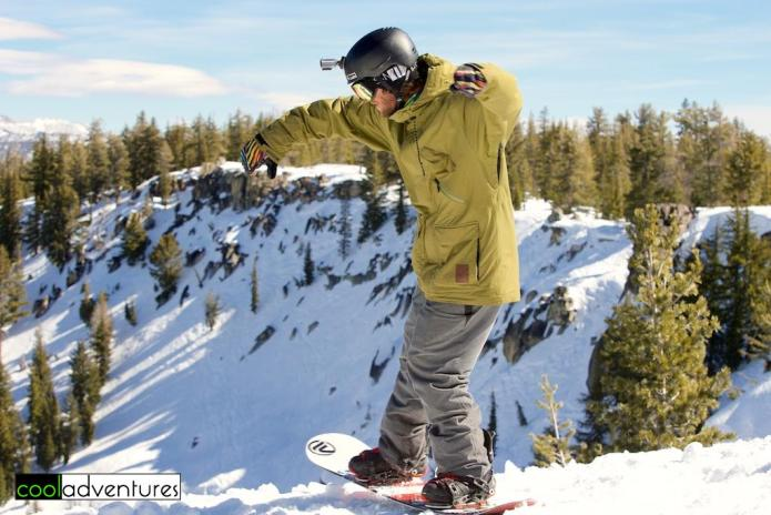 Jordan Nield, Snowboard competition at Huckleberry Canyon, Huck Cup, Sierra at Tahoe