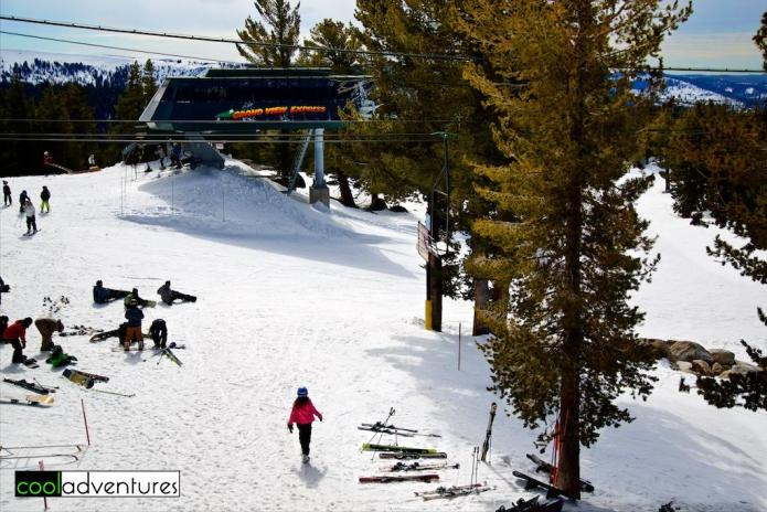 Grand View Express lift, Sierra at Tahoe, Lake Tahoe, California