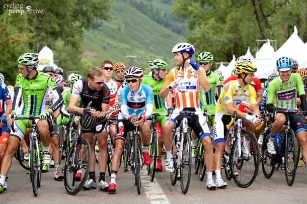 USA Pro Challenge 2014 Stage 2, Ivan Basso, Jens Voigt, Clement Chevrier, Danny Summerhill, Kiel Reijnen, Alex Howes