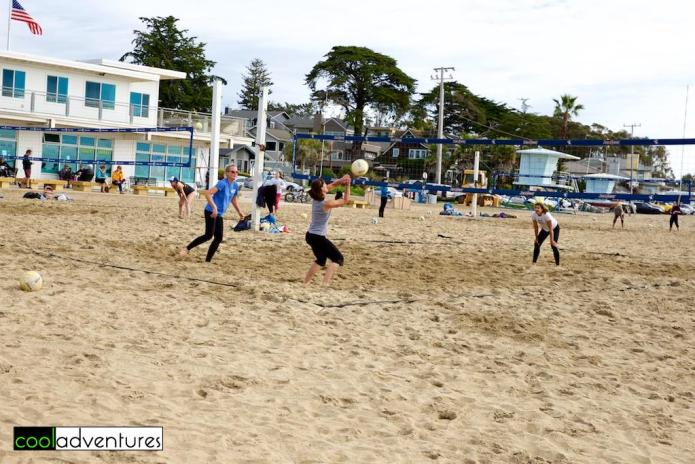 Santa Cruz Harbor Beach, Santa Cruz, California