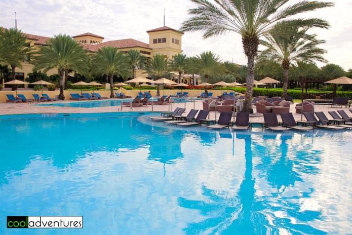 Pools at Santa Barbara Beach Resort, Curacao