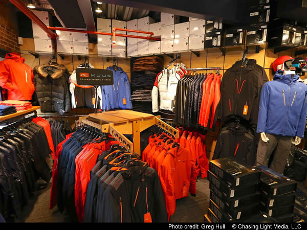 Aspen ski shop: Hamilton Sports