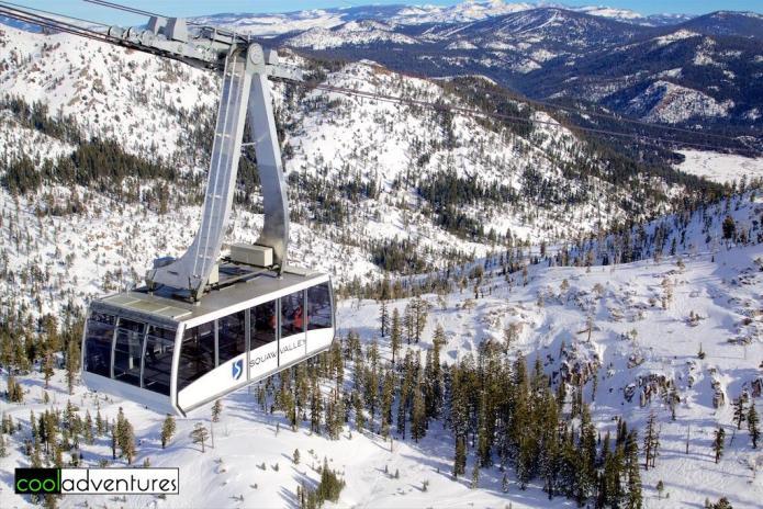Squaw Valley Ski Resort, Lake Tahoe, California