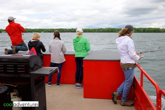 Fishing with McQuoid's Inn, Lake Mille Lacs