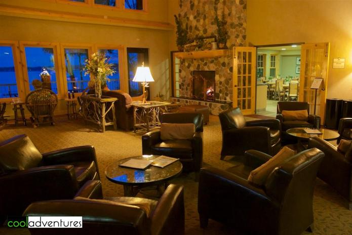 Where to stay: The Lodge on Lake Detroit