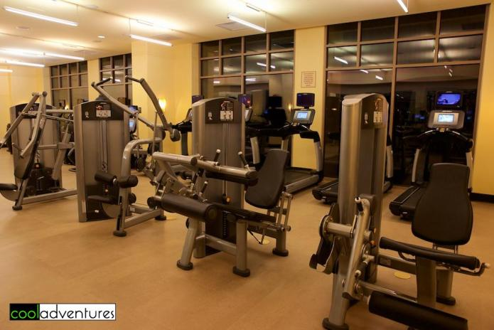 JW Marriott Starr Pass resort fitness center, Tucson, Arizona
