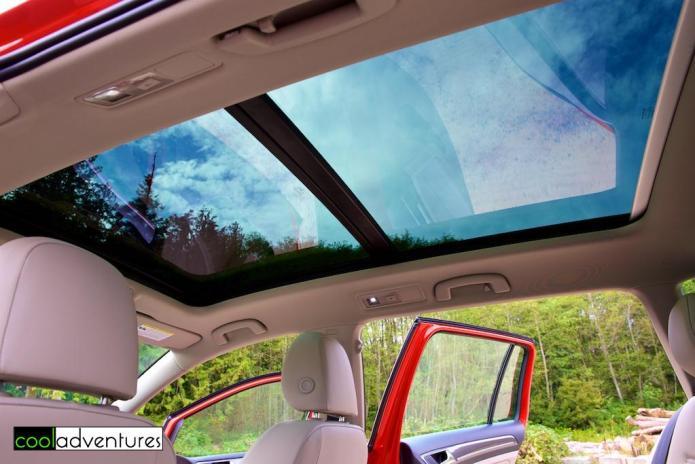 2017 Volkswagen Alltrack sunroof