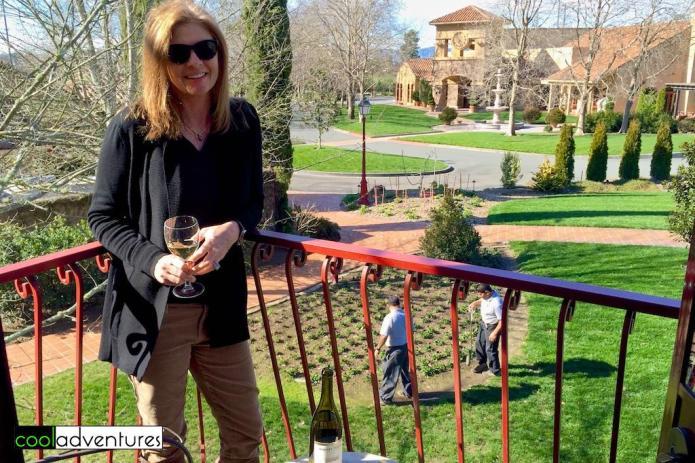 Kim Hull at Vintner's inn, Sonoma County, California