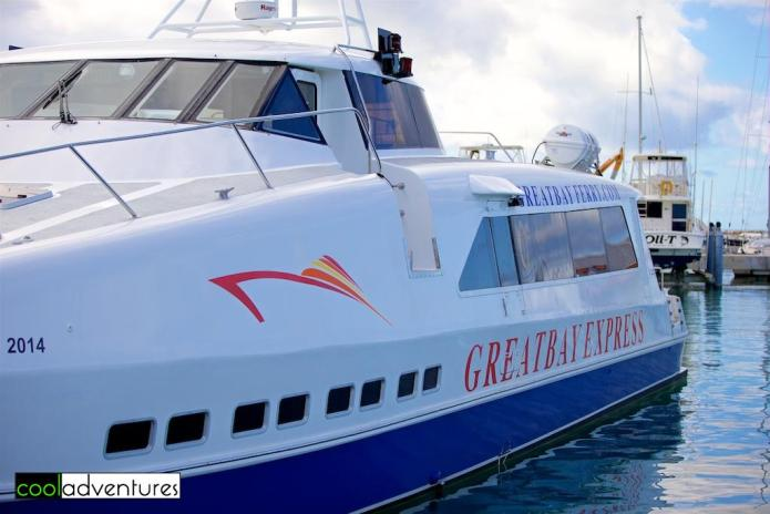 Great Bay Express Ferry, St Maarten to St Barths