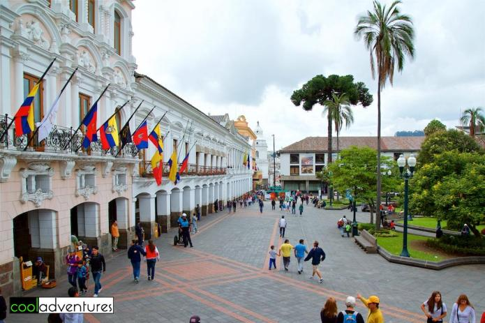 Things to do in Quito: Plaza de la Independencia