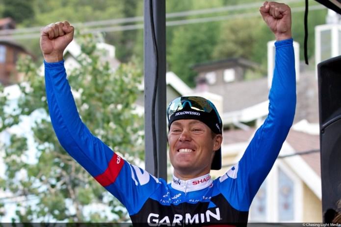 Tour of Utah 2013 Stage 6, Tommy Danielson, Garmin Sharp