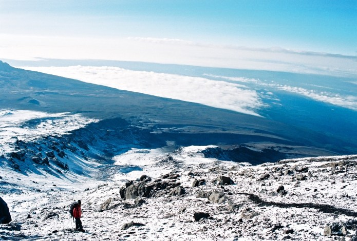 Climbing Kilimanjaro Machame Route - Summit Day