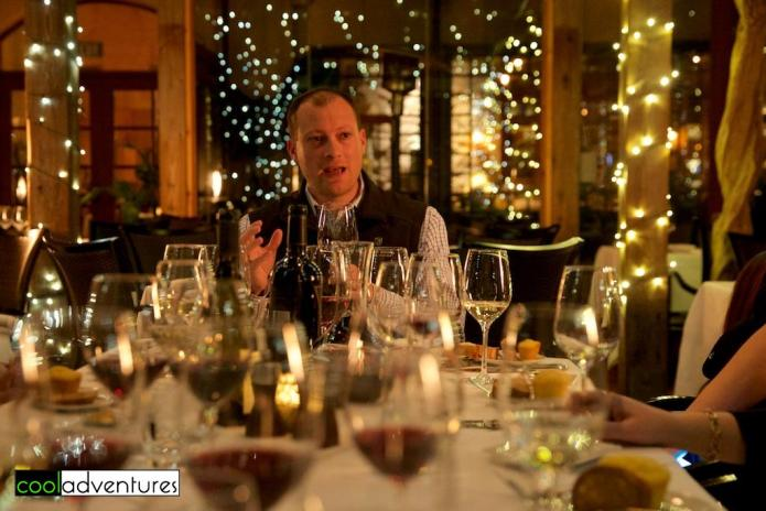 Rodney Strong Master Blender Experience dinner at John Ash & Co., Sonoma County, California