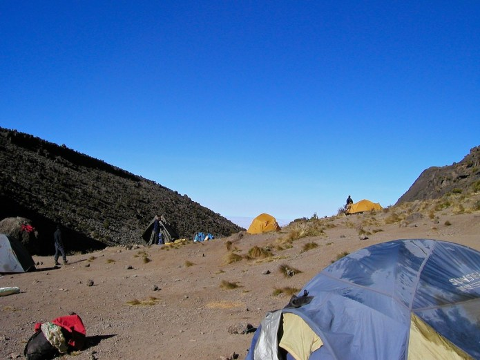 Climbing Kilimanjaro Machame Route Day 5