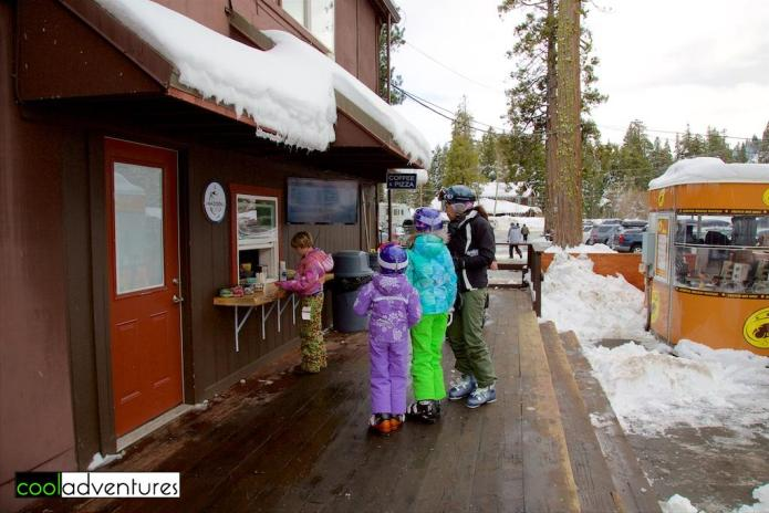 Madden Cafe at Homewood, Lake Tahoe, California
