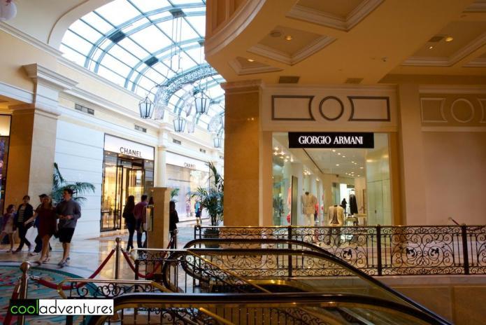 Shopping at Bellagio, Las Vegas, Nevada
