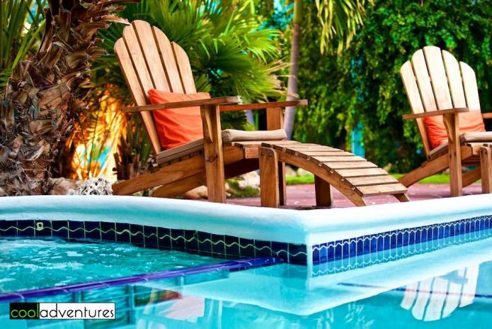 Poolside at Boardwalk Aruba