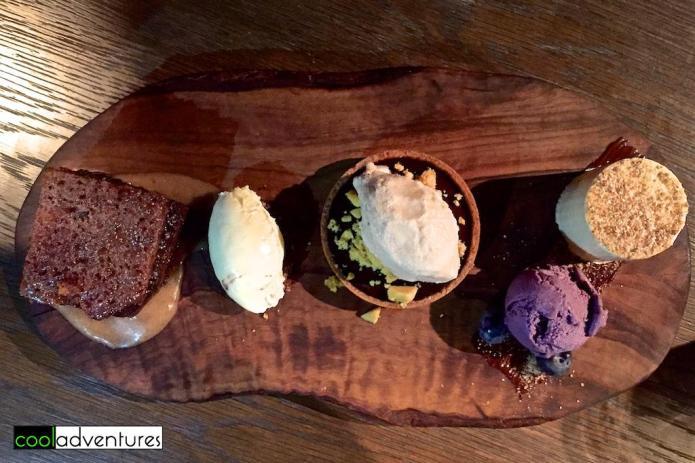 Dessert platter at Bread Street Kitchen, Singapore