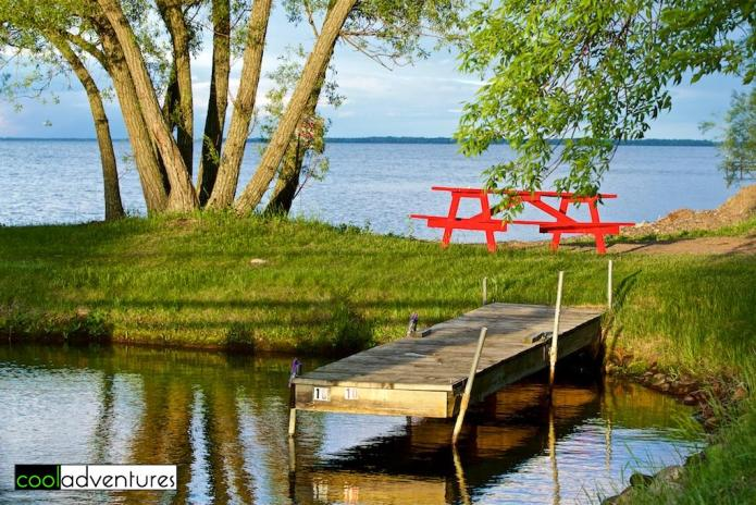 Outdoor activities at Eddy's Resort on Mille Lacs Lake