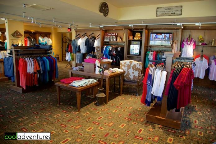 Pro shop at Star Pass Golf Club, Tucson, Arizona