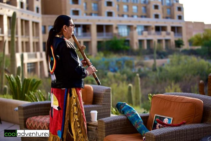 Mitakuye Oyasin morning ritual, JW Marriott Starr Pass, Tucson, Arizona